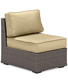 South Harbor Armless Unit Replacement Sunbrella® Cushion, Quick Ship