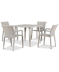 Harrison 5-Pc. Dining Set, Quick Ship