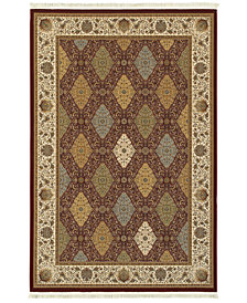 "Oriental Weavers Masterpiece Baktiari Red 9'10"" x 12'10"" Area Rug"