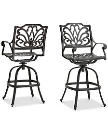 Carter Bar Stool (Set of 4), Quick Ship