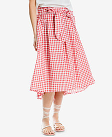 Max Studio London Gingham-Print Midi Skirt, Created for Macy's