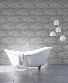 Graham & Brown New Brick Gray Wallpaper