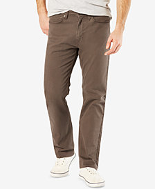 Dockers Men's Jean Cut Straight Fit Khaki Stretch Pants