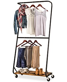 Rustic Garment Rack