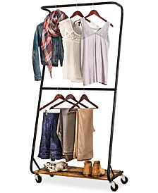 Honey Can Do Rustic Garment Rack