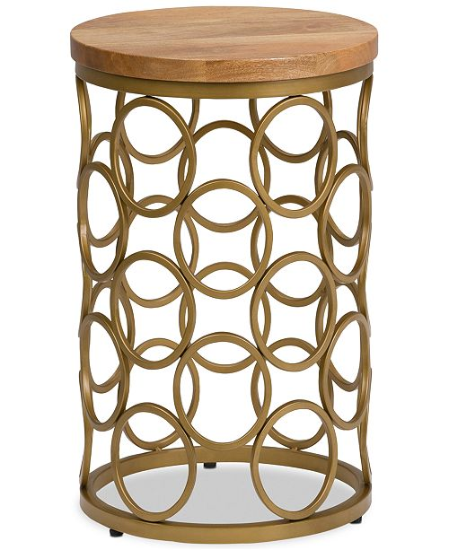 Simpli Home CLOSEOUT! Emalee Accent Table