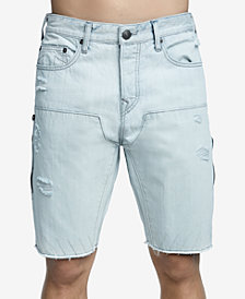 True Religion Men's Stretch Denim Shorts
