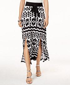 I.N.C. Printed Maxi Skirt, Created for Macy's