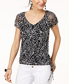 I.N.C. Tie-Hem Top, Created for Macy's
