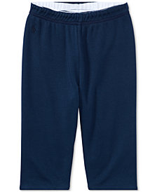 Ralph Lauren Reversible Cotton Pants, Baby Boys