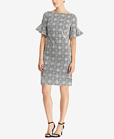 Lauren Ralph Lauren Embroidered Dress