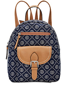 Giani Bernini Chain Signature Backpack, Created for Macy's