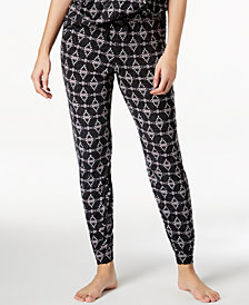 Ande Lush Luxe Printed Jogger Pajama Pants