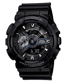 G-Shock Men's Analog Digital Black Resin Strap Watch, 55mm GA110-1B