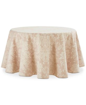 "Berrigan Rust 70"" Round Tablecloth"