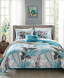 Madison Park Essentials Claremont 8-Pc. King Coverlet Set