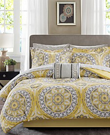 Serenity 9-Pc. Full Comforter Set