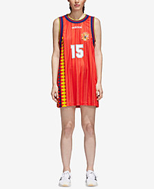 adidas Originals Spain Soccer Mesh Tank Dress