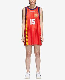 adidas Originals Spain Soccer Mesh Tank Dress