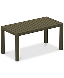 Click-Clack Outdoor Coffee Table, Quick Ship