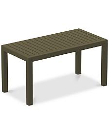 Click-Clack Outdoor Coffee Table, Quick Ship