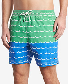 "Tommy Hilfiger Men's Coastal 6.5"" Swim Trunks"