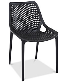 Grid Side Chair (Set Of 4), Quick Ship