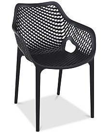 Grid Armchair (Set Of 4), Quick Ship