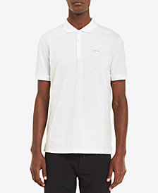 Calvin Klein Men's Liquid Touch Pieced Colorblocked Polo