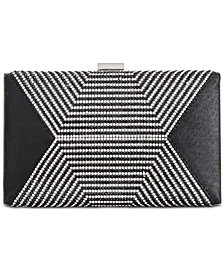 I.N.C. Rochel Black Small Clutch, Created for Macy's