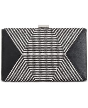 I.n.c. Rochel Black Small Clutch, Created for Macy's 5983047