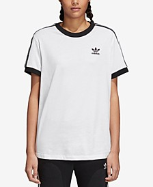 adicolor Cotton Three-Stripes T-Shirt