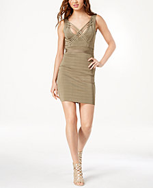 GUESS Strappy Crisscross Bandage Dress