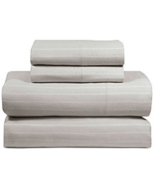 DKNY PURE Comfy Cotton 200-Thread Count 3-Pc. Twin Sheet Set
