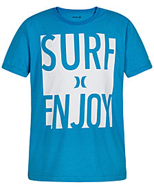 Hurley Big Boys Graphic-Print T-Shirt