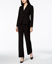 Le Suit Two-Button Pantsuit, Regular & Petite