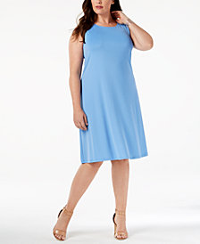 Kasper Plus Size Swing Dress