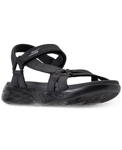 Skechers Women's On The Go 600 - Brilliancy Athletic Sandals from Finish Line
