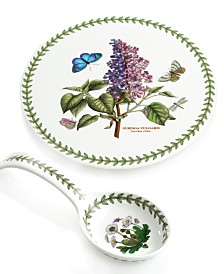 Portmeirion Dinnerware, Botanic Garden Spoon Rest and Trivet Gift Set