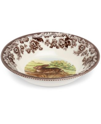 Dinnerware Woodland Rabbit Ascot Bowl  sc 1 st  Macyu0027s & Spode Dinnerware Woodland Rabbit Collection - Dinnerware - Dining ...