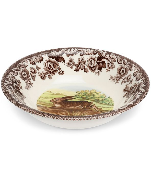 Spode Dinnerware, Woodland Rabbit Ascot Bowl
