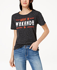 Hybrid Juniors' Made in Wakanda Graphic T-Shirt