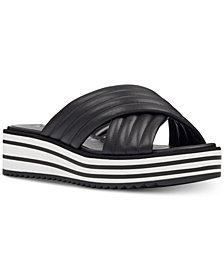 Nine West Flat Zonita Flatform Sandals