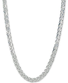 "Square Herringbone Chain 18"" Collar Necklace, Created for Macy's"