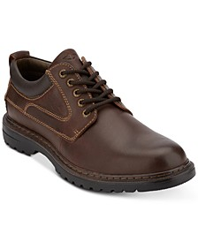 Men's Warden Plain-Toe Leather Oxfords