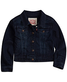Levi's® Snap Button-Front Denim Jacket, Little Girls