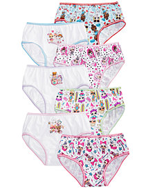 L.O.L. Surprise!  Little & Big Girls 7-Pk. Cotton Panties