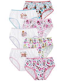 L.O.L. Surprise!  Little & Big Girls 7-Pk. Cotton Panties