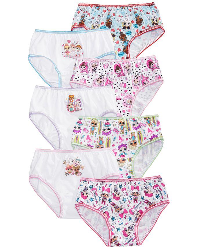 LOL Surprise! - 7-Pk. Cotton Panties, Little & Big Girls