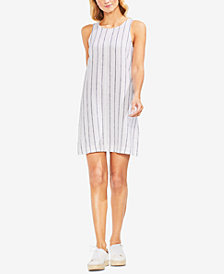 Vince Camuto Striped Sleeveless Shift Dress
